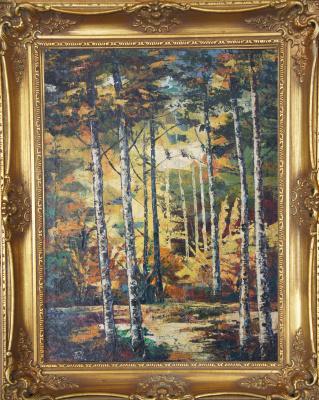 Неизвестный  художник. Лес (Сутин)