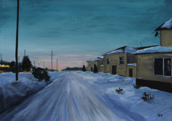 Денис Григорьевич Русаков. Sunset 28th February