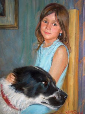 Виталий Викторович Жердев. Portrait of Lera Bezlepkina