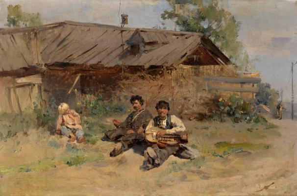 Konstantin Makovsky. Bandura