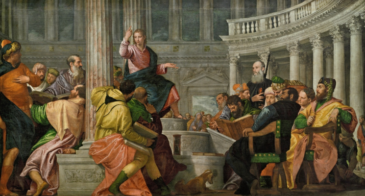 Paolo Veronese. Christ among the doctors in the temple