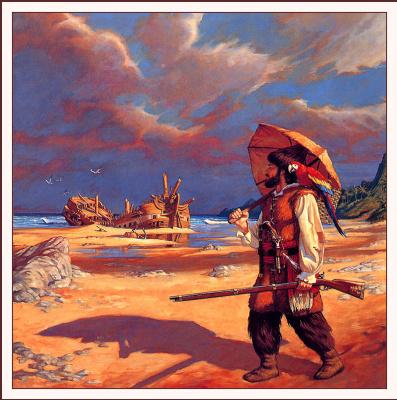 Рэнди Берретт. Пляж