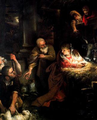 Annibale Carracci. Christmas