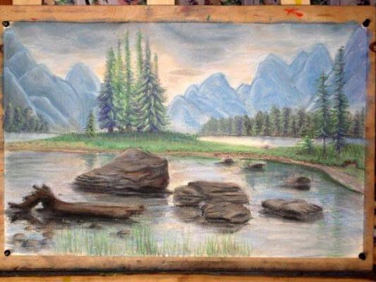 Sophie Wasilewska. The mountain landscape