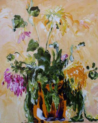 Alexander Ocher Kandinsky-DAE. Wilted bouquet