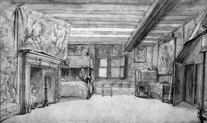 Адриан ван де Венне. Спальня