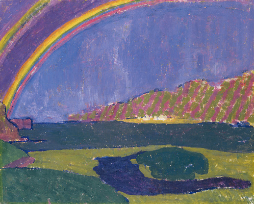 Giovanni Giacometti. Rainbow