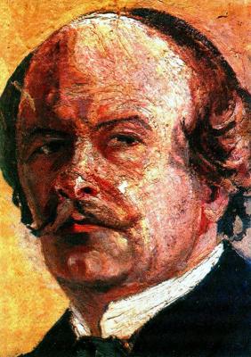 Николай Григорьевич Бурачек. Self-portrait