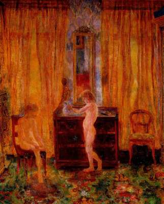 James Ensor. Nude