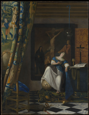 Ян Вермеер. Аллегория католической веры