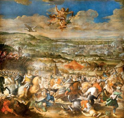 Мартино Альтомонте. Победа под Веной 12 сентября 1683 года