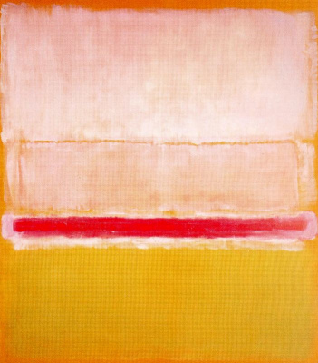 Rothko Mark.  No. 2 (White, red and yellow)