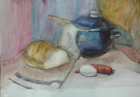 Julia Sergeevna Bochkareva. On the kitchen