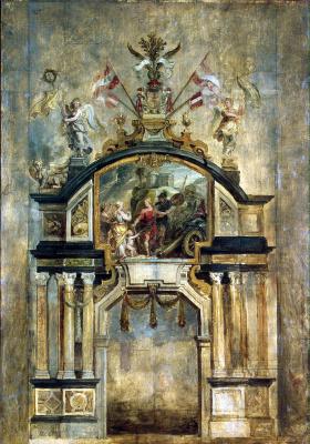 Peter Paul Rubens. The Arch Of Hercules