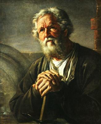 Vasily Andreevich Tropinin. Portrait Of Samson Sukhanov Ksenofontovich