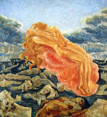 Umberto Boccioni. The plot 11