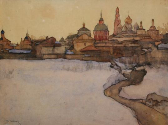 "Yuon Fedorovich Konstantin. ""March"" Samara Regional Art Museum"
