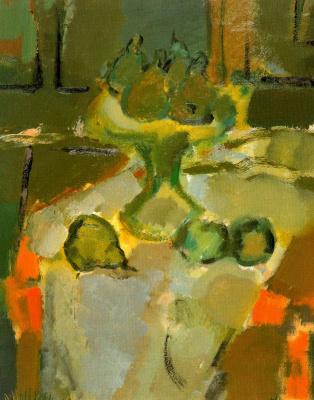 Рикардо Макаррон. Груши на столе