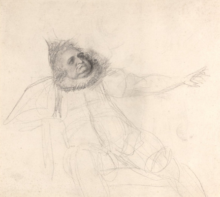 George Romney. John Henderson as Falstaff