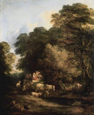 Thomas Gainsborough. Go to the market