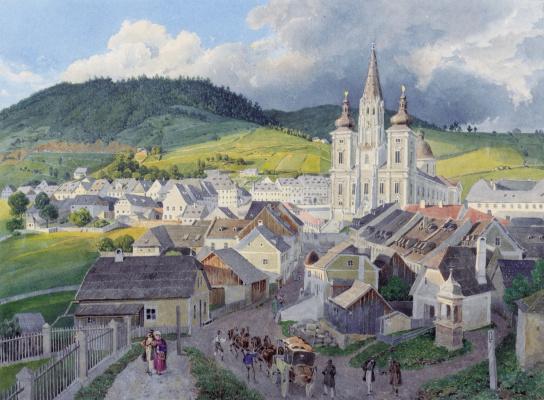Эдуард Гурк. Церковь Милосердия в Мариацелле
