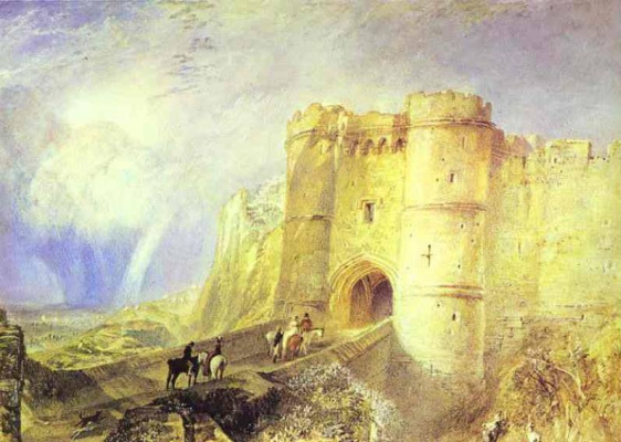 Joseph Mallord William Turner. Carisbrooke castle, Isle of Wight