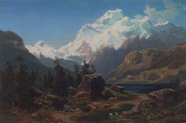 Alexey The Kondratyevich Savrasov. Swiss view