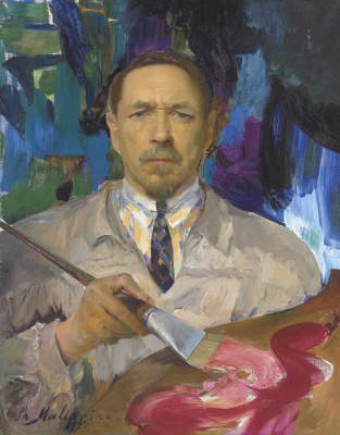 Filipp Andreevich Malyavin. Self-portrait