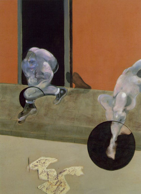 Francis Bacon. Figures in motion