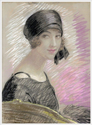 Герда Вегенер. Портрет женщины