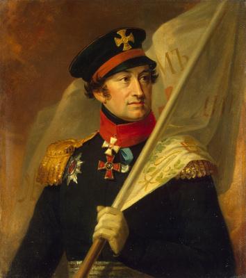 George Dow. Portrait Of Alexander Alexandrovich Bibikov