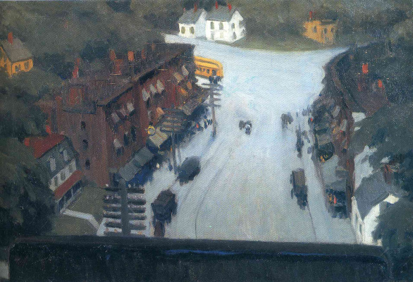 Edward Hopper. American village