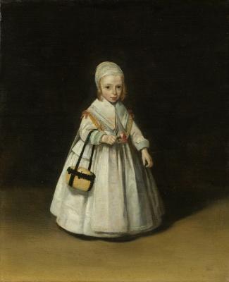 Gerard Terborch (ter Borch). Portrait of Helena van der Schalk