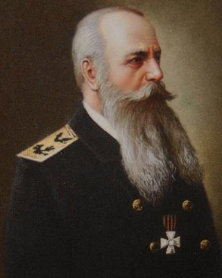 Борис Тхянович Цой. Адмирал флота Макаров