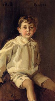 Хоакин Соролья (Соройя). Портрет Базеля Мунди