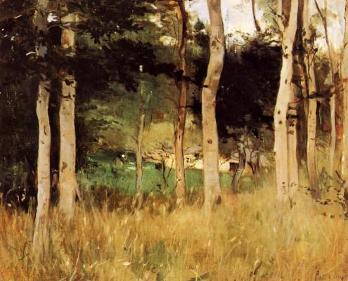 Berthe Morisot. A cabin in Normandy