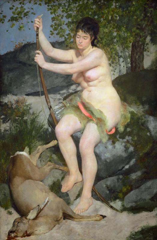 Pierre-Auguste Renoir. Diana