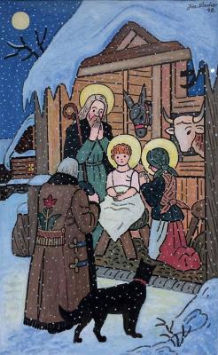 Йозеф Лада. Христос родился