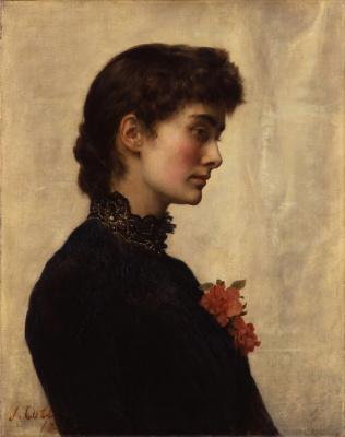 Джон Кольер. Марион Кольер (урожденная Хаксли) 1882-1883