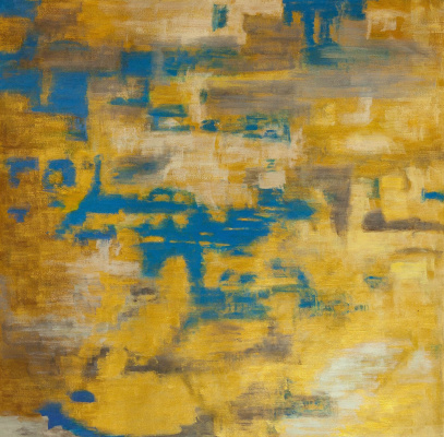 Brian dupre. Gold on Blue