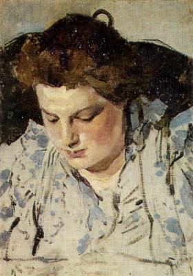 Alexander Yakovlevich Golovin. Portrait Of M. K. Golovina