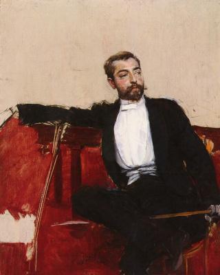 Giovanni Boldini. Portrait of John Singer Sargent