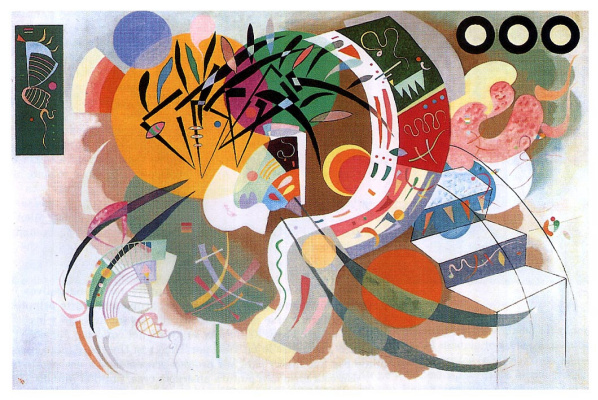 Wassily Kandinsky. The dominant curve