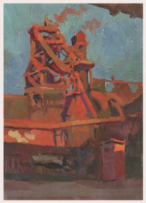 Alexandrovich Rudolf Pavlov. Study from the ChMZ series 1