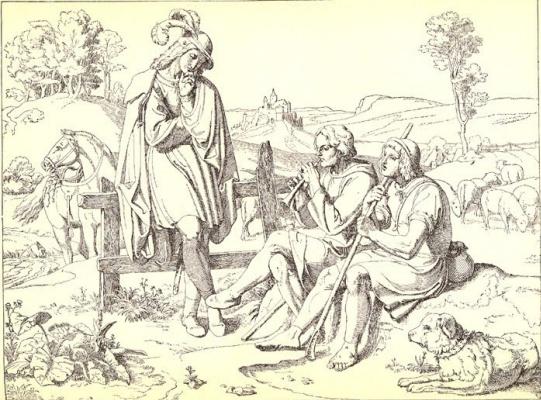 Йозеф фон Фюрих. Гравюра 9