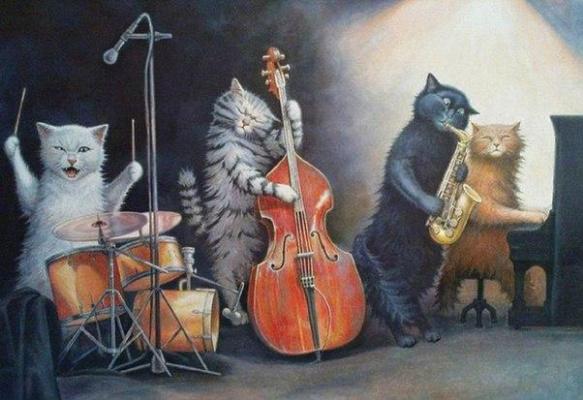 Stepan Vladimirovich Kashirin. Jazzband