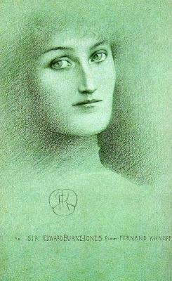 Фернан Кнопф. Портрет женщины. Этюд