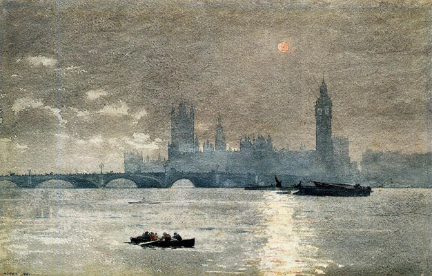 Winslow Homer. The Parliament building
