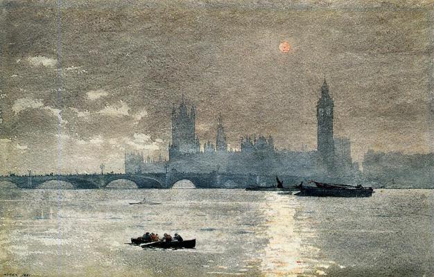 Winslow Homer. The Parliament building