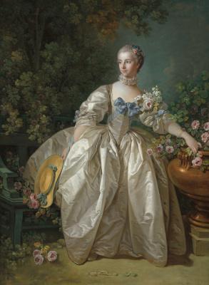 Francois Boucher. Madame Bergeret